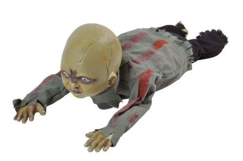 Halloween Crawling Zombie Baby for Trick Or Treat Party Decoration